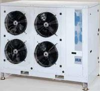 MH Frascold: Condensing unit with Frascold semi-hermetic compressor and internal motor protection