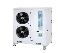 MH 2 Condensing Unit: Multicompressor pack systems with tandem scroll compressors and built-in air cooled condenser