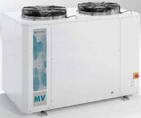MV Condensing Unit: MV Condensing Unit with Semi-hermetic             compressor with internal motor protection